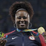 Michelle Carter, Olympic Gold Medalist