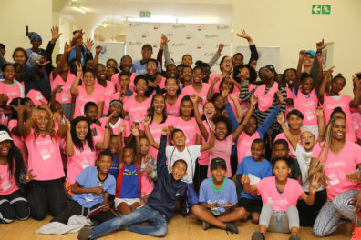 CAPE TOWN, SOUTH AFRICA - MARCH 10:  during the TrackGirlz Leadership Camp for Girls hosted by Natasha Hastings and Mechelle Lewis Freeman at the University of Western Cape on March 10, 2018 in Cape Town, South Africa. (Photo by Roger Sedres/ImageSA)